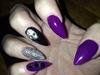 Purple , Black , Silver , Skull
