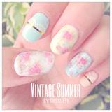 Vintage Summer Nails