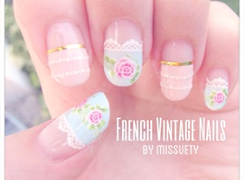 French Vintage Nails