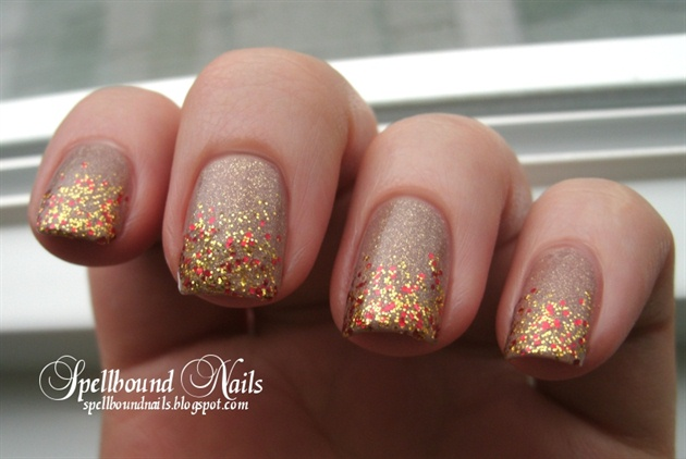 Glitter Fade Nail Art Gallery