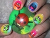funny nails art