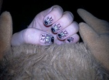 rendeer nails art