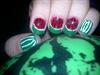 watermelon nails art