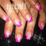 Pink .. Mädchennägel :)