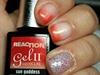 Gel II polish and Light Elegance P+ gel