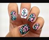 Floral Anchor Nail