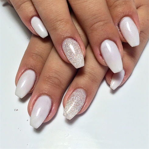 Soft White Ballerinas