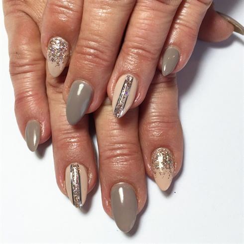 Earl grey and nude nails nail art gallery earl grey and nude nails prinsesfo Images