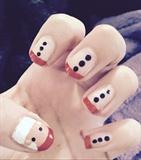 Santa Christmas Nails