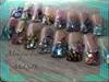 Inlay design nails & hand painting