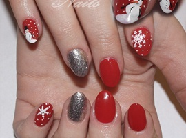 More Christmas Nails