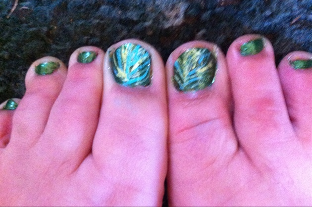 Big Toe Nail Art