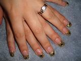 Black diamond & Gold tip
