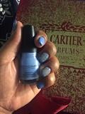 Acrylic Blue Petals