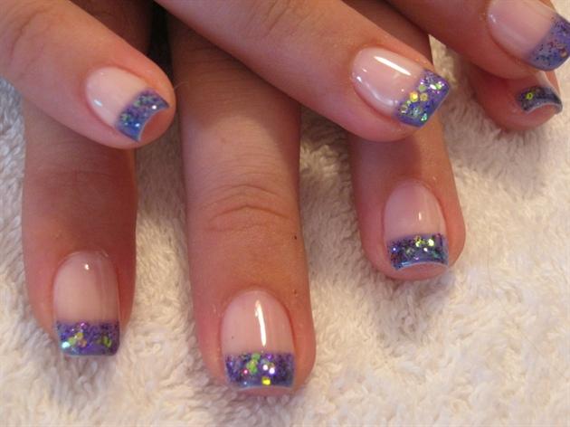 Purple glits