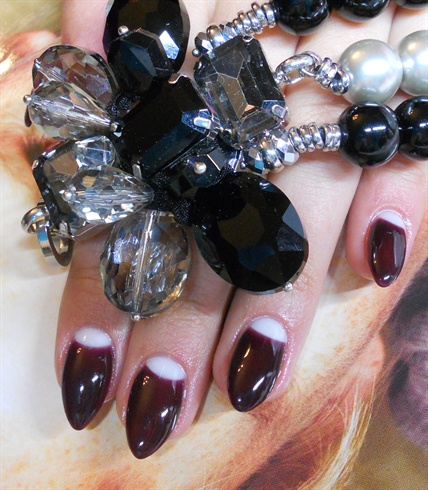 glamour nail art