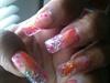 Pink & Gold Nail Art