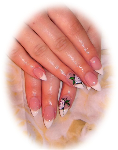 simple french with flowers