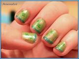 St Patrick's Nail Art