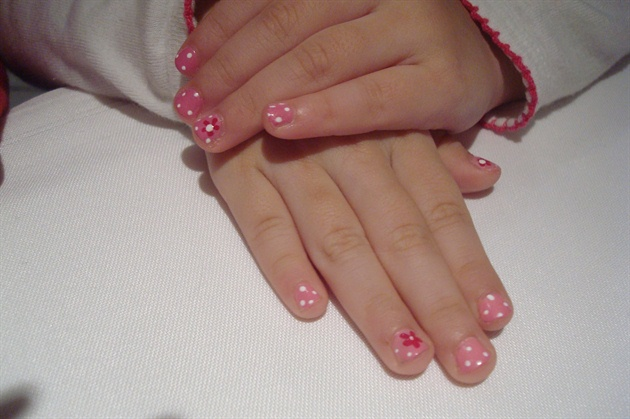 My little client nail! 3 years old!