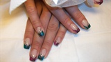 green/fuxia