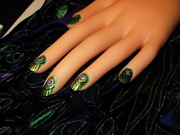 peacock bling