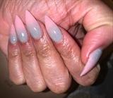 Grey & Pink ombré