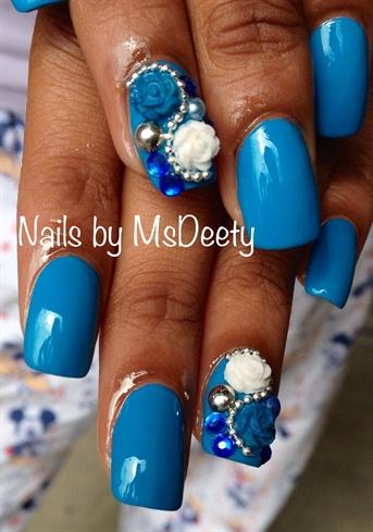 Springy Blue