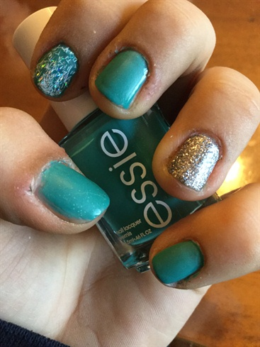 My Turquoise Nail