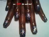 stars n striped cumstom glitter