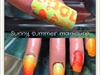 Hot summer gradient design