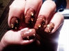 My Chocolate Covered Caramel Nails.