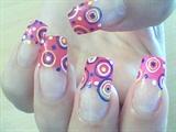 Multicolored Circles Design