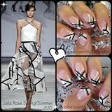 Lela Rose Spring 2015 nails
