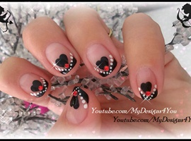 Easy Valentine's Day Nails