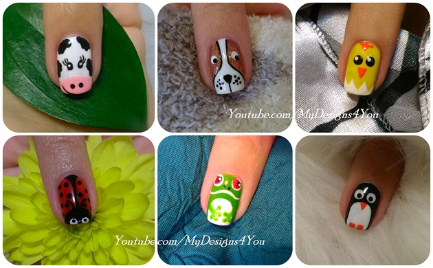 Animal Nail Art Vol.1