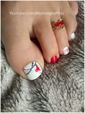 Valentine's Day Pedicure