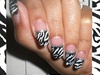 Zebra nails B/W