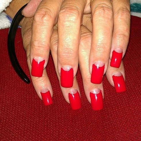 retro red