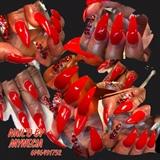 Red Stiletto Acrylic & Gel Polish