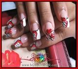 ..::: Zebra Valentine with a Twist :::..