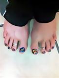 cool toenails!
