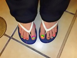 neon toes