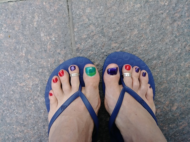 my yoga toes!