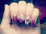Zebra + Glitter