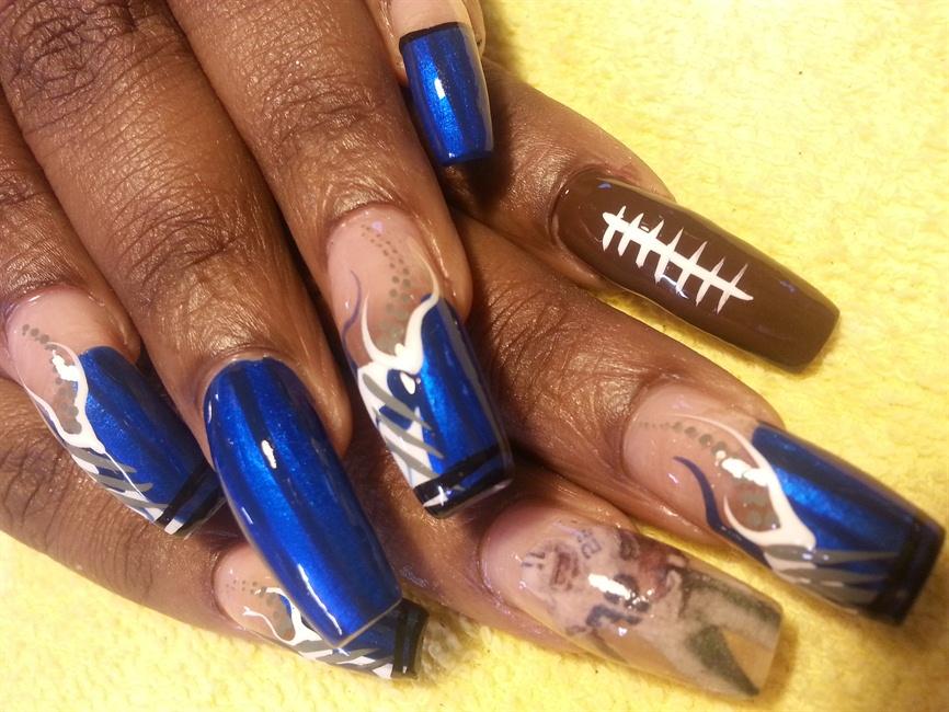 Dallas Cowboys Nail Art Gallery