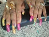 Her real nails