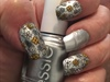 Silver Chrome & Flowers