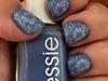 Matte Blue Flowers