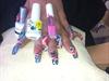 Gel Nails With Gel Polish And Gel Art